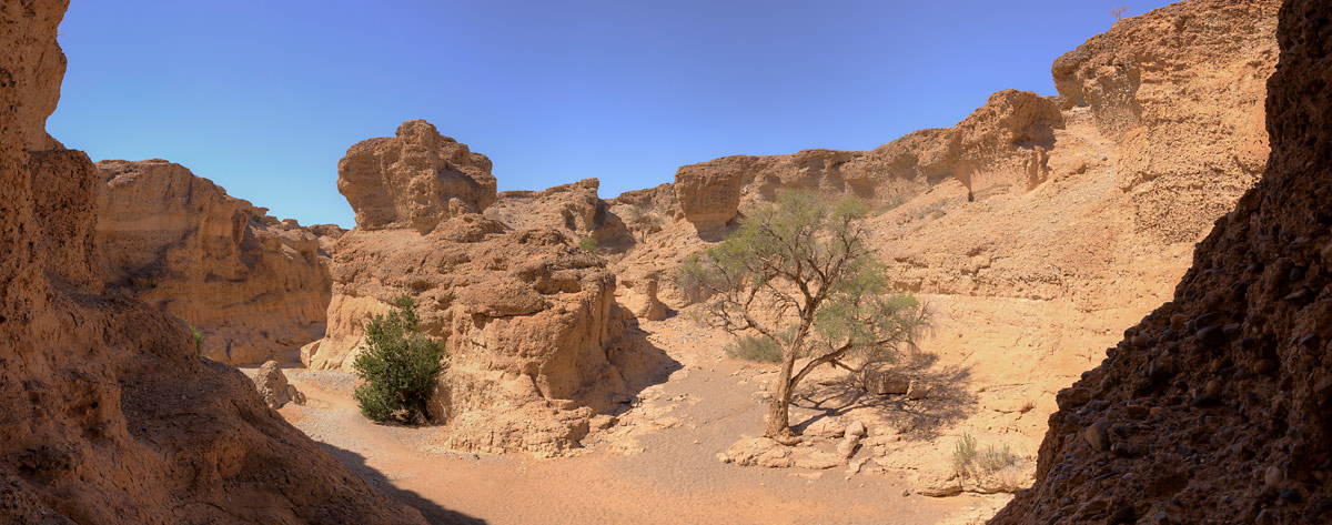 sesriem canyon panorama